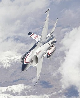 F-16 VISTA Experimental Aircraft