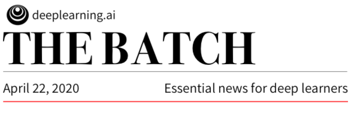 "Our research work on crop prediction using CNN was reported on today's ""The Batch"" Newsletter!"